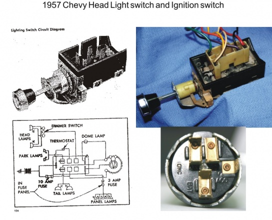 57 Head Light switch explained | Chevy Tri Five ForumChevy Tri Five Forum