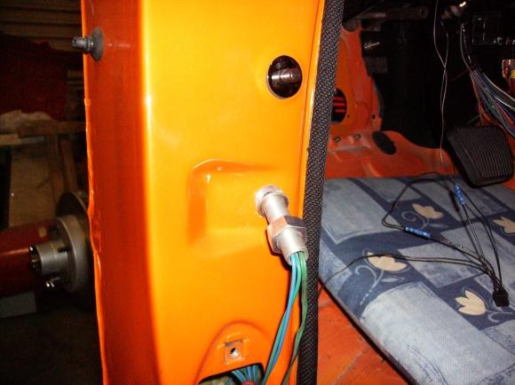 Door Wire Loom Install Chevy Tri Five Forum