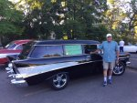 The Wagon Monster's 1957 Chevrolet 210 Station Wagon