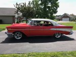 MikeyinNova's 1957 Bel Air 4 door hardtop