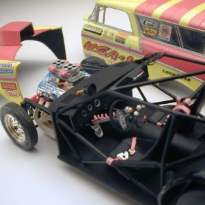 Wolfies 56 Pro-Mad Detail Model car
