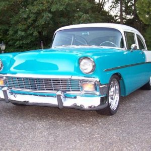1956 Chevy. Post 210