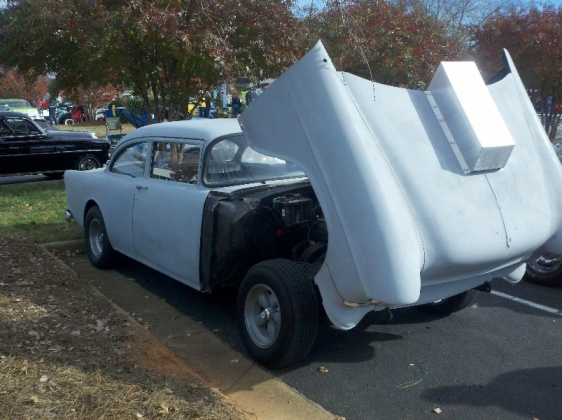 Simple Tilt For Steel Front End Trifive Com 1955 Chevy