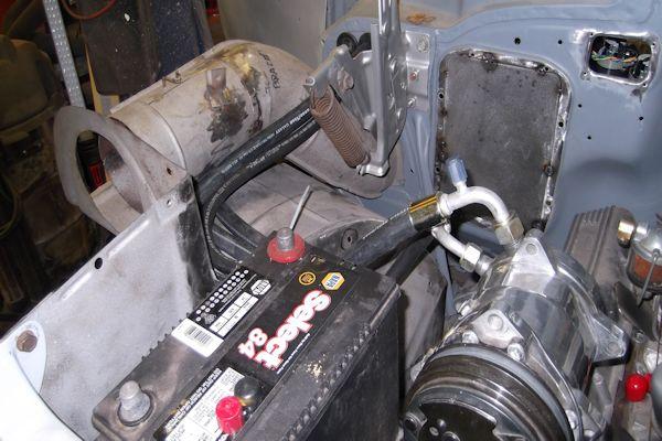 57 Chevy Heater Hose Diagram