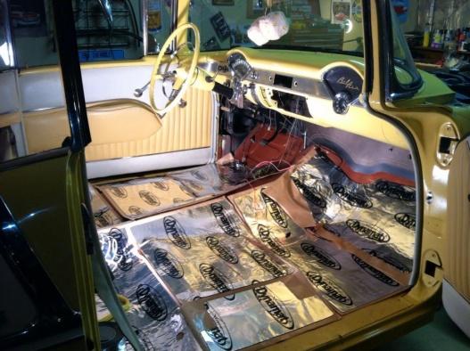 Insulation Heat Amp Sound Trifive Com 1955 Chevy 1956