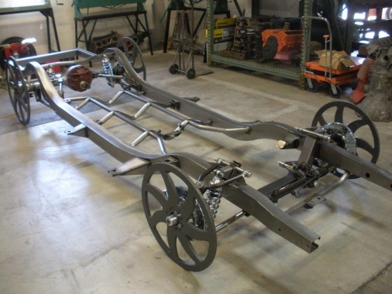 Precision Hots Rods Chassis From Rds Trifive Com 1955