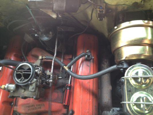 Vacuum line question - TriFive com, 1955 Chevy 1956 chevy 1957 Chevy
